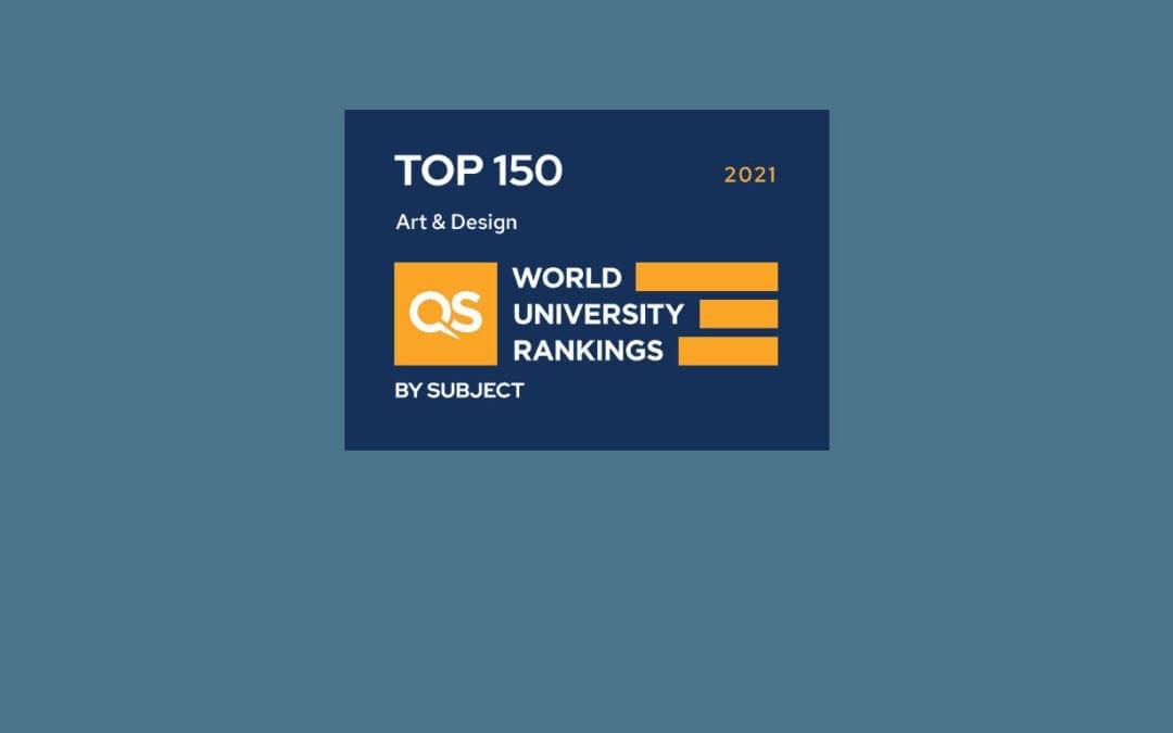 QS全球藝術與設計學院排名2021:Domus Academy排名全球前150